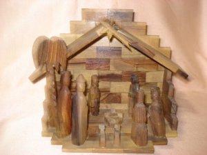 Olive Nativity Set