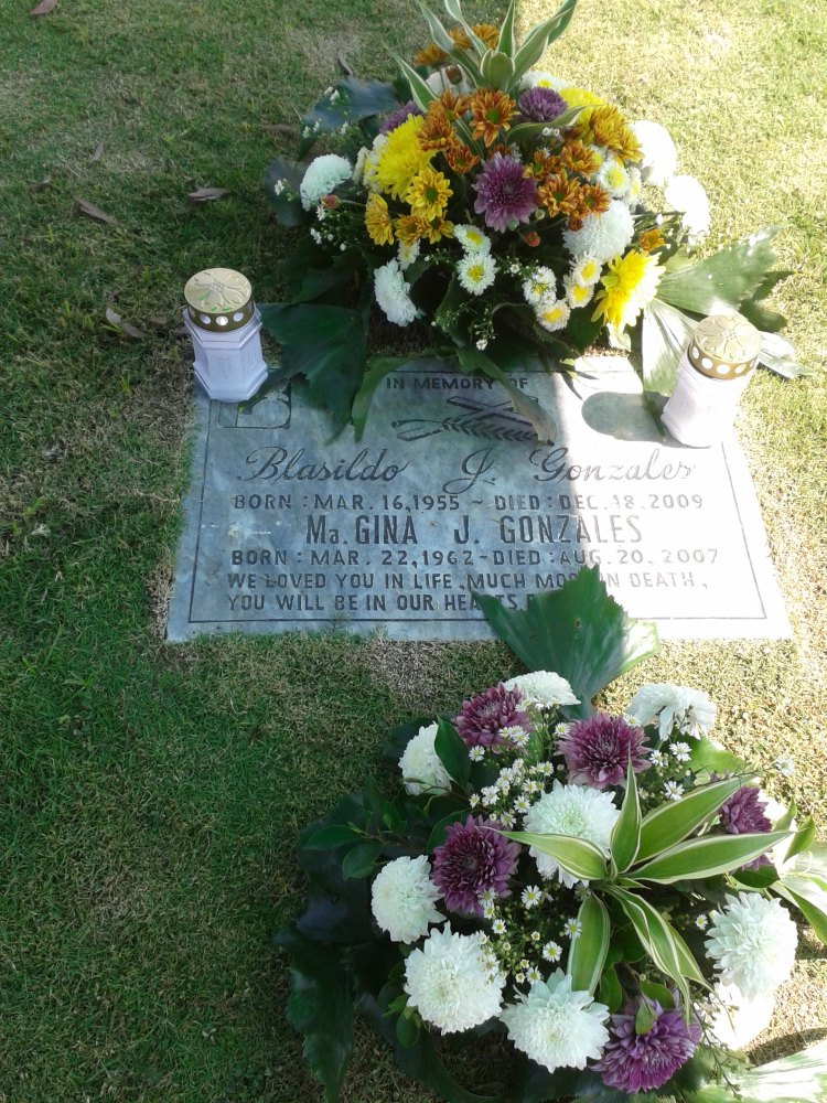 Sildo and Gina's Grave