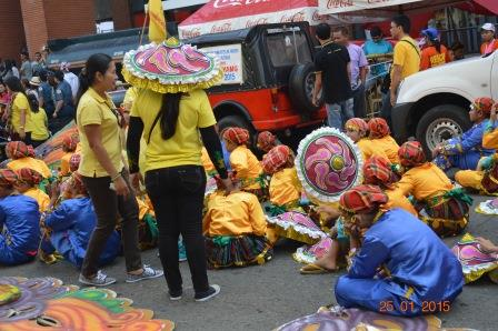 Dancers from Tacurong...waiting..