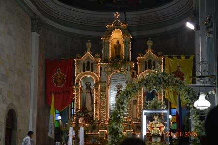 San Jose Church Altar