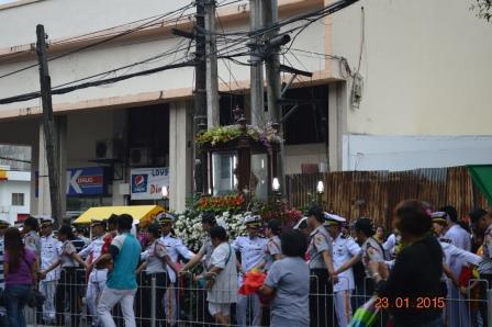 Sto Nino procession