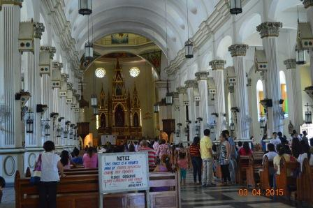 Inside Molo Church