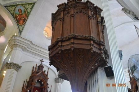 Right Side Pulpit