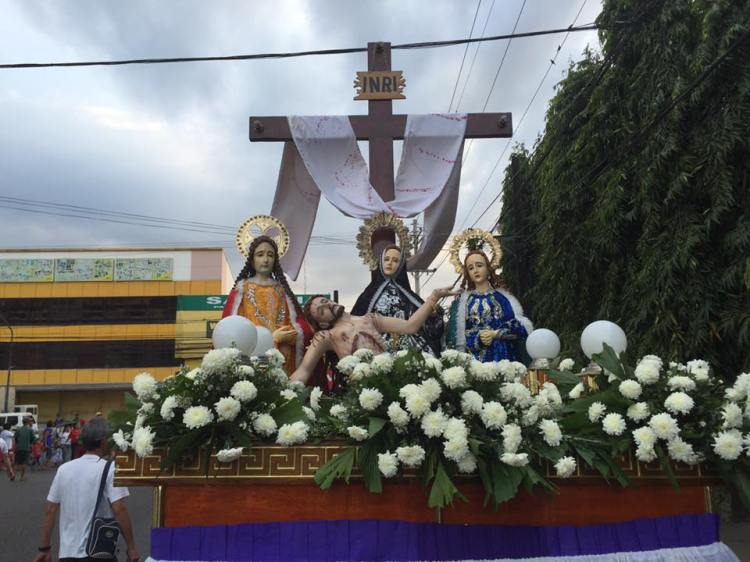 Jesus from the Cross with the Three Marys